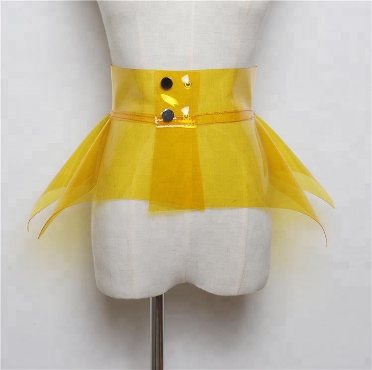 B14127A Новые Модные прозрачные ремни большого размера карамельных цветов