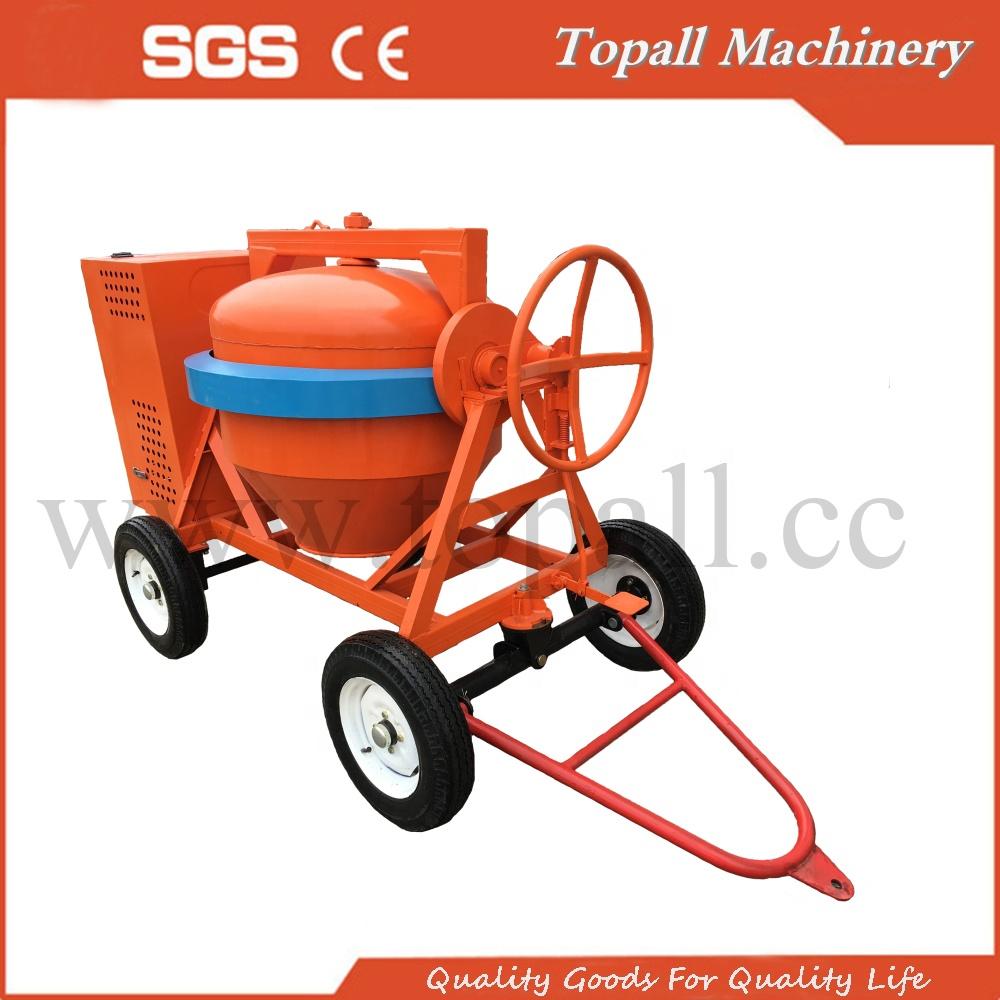 2019 Topall New portable Diesel Cement Concrete Mixer