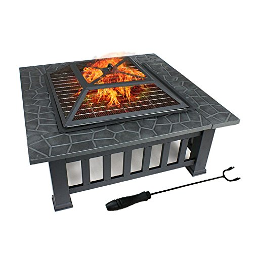 Safe Durable And Rust Resistant Square Mosaic Tile Top Fire Pit Table Buy Fire Pit Table Outdoor Fire Pit Table Slate Top Table Fire Pit Product On Alibaba Com
