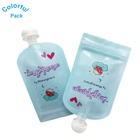 Reusable liquid spout pouch bags baby food packaging squeeze pouch