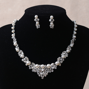 Hot sale sample jewelry sets necklace wedding bridal return gifts for birthday