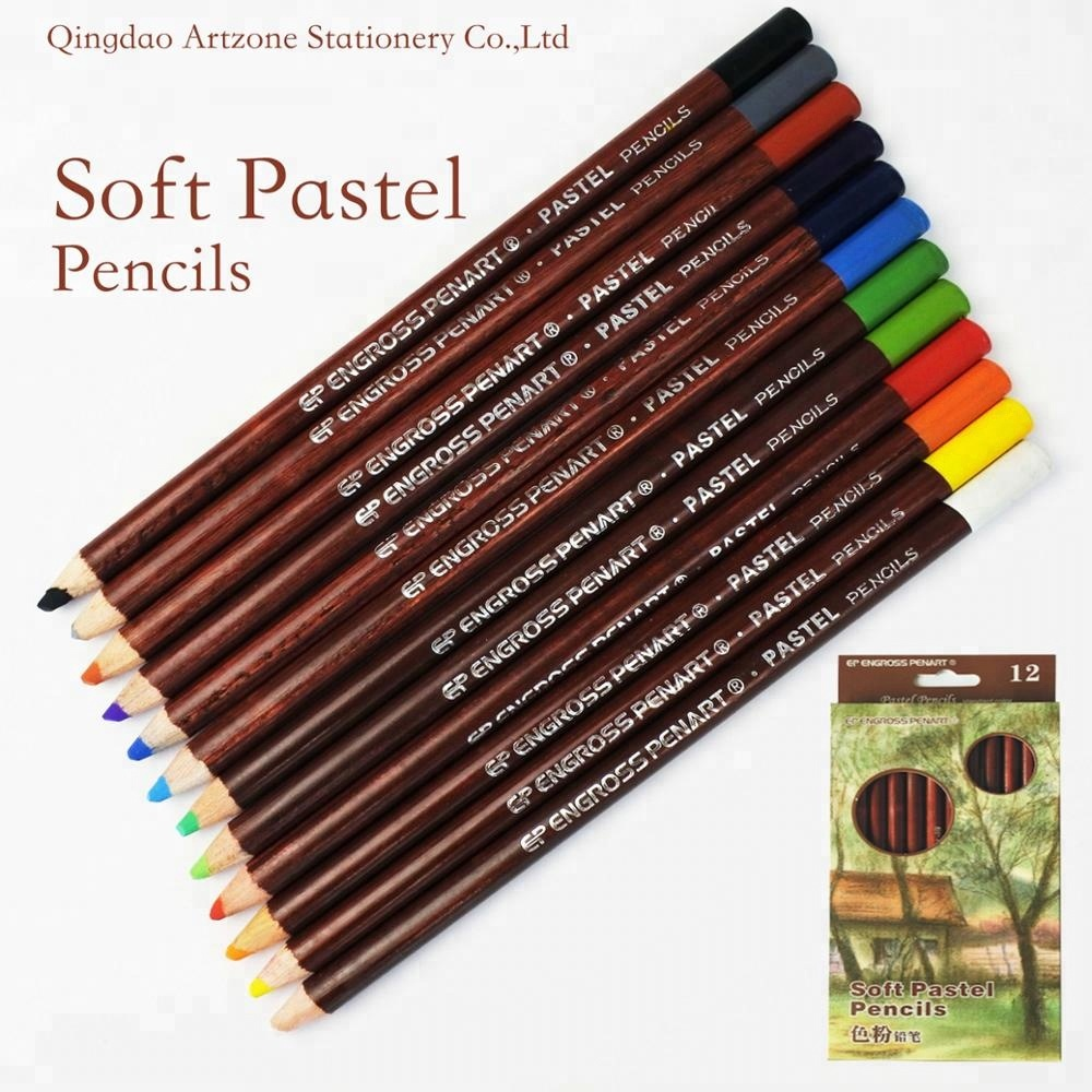 high quality professional 12 color set soft pastel pencil buy soft pastel pencil set crayon colour pencil product on alibaba com