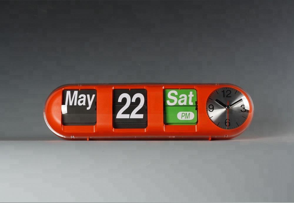 Цилиндрические настенные часы A00AF610 с орнаментом и календарем