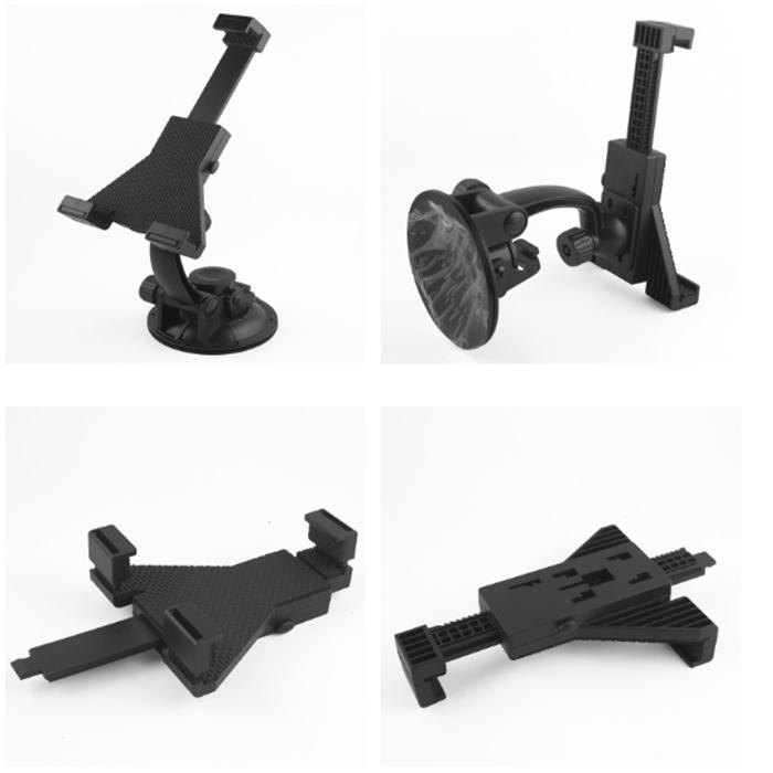 Universal Car window glass mount tablet bracket retractable stand holder suction cup adjustable bracket for tablet