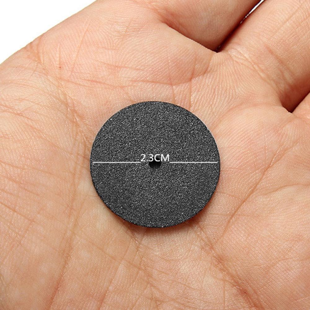 36Pcs Black Disc 24mm Abrasive Tools Fiberglass Reinforced Cutting Disc Cut Off Wheel for Dremel Rotary Tool Accessories