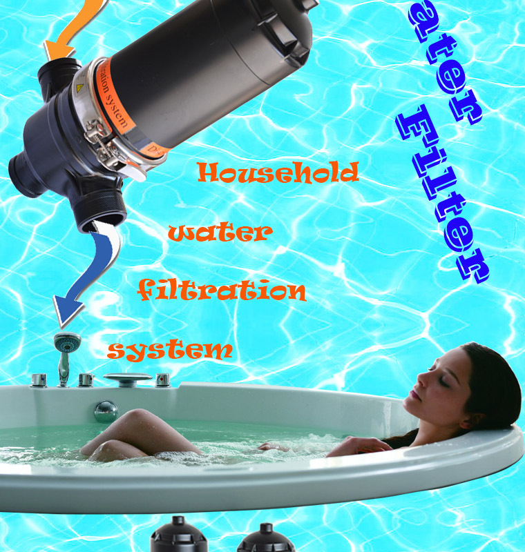 Auto Backwash Plastic Disc Filter System Irrigation Water