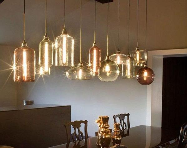 New Modern Color Glass Ball Ceiling Light Lighting Pendant