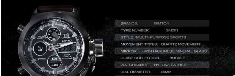 Herrenuhren Suche Nach FlüGen Mode Marke Männer Uhren Nylon Band Quarz Digital Analog Uhr Männer Military Sport Led Elektronische Armbanduhr Für Mann 2019