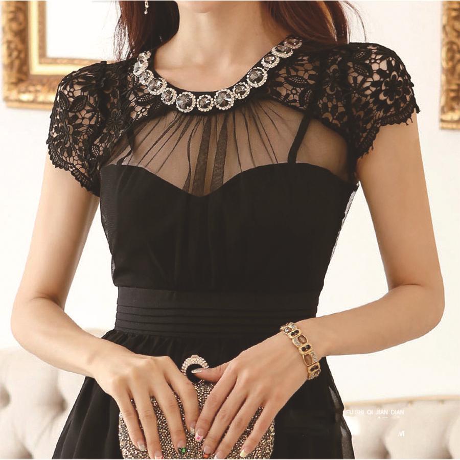 Encuentra Blusas Negras De Encaje - Blusas de Mujer en Mercado Libre México. Descubre la mejor forma de comprar online.