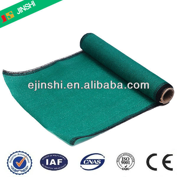 100% new material HDPE Dark green agriculture sun shade netting