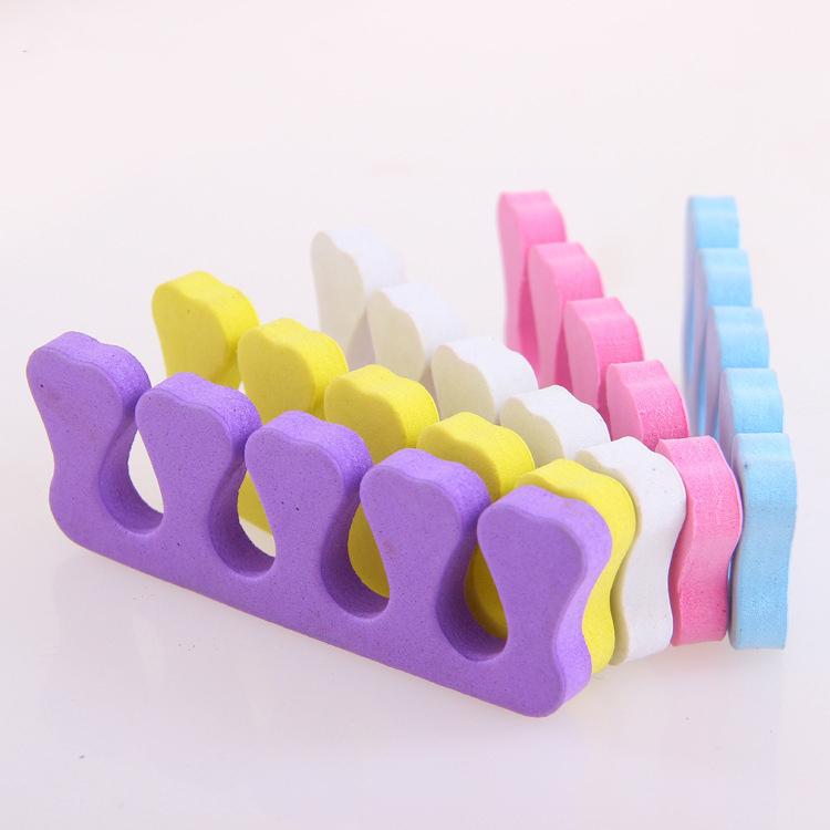 Новые профессиональные цветные эва лак для ногтей пальцы разделители пальцев  Новый профессиональный цвета EVA лак для ногтей пальцев ног сепараторы