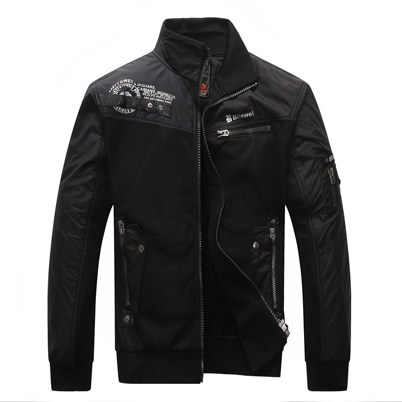 autumn and winter cool jackets for men stand collar casual