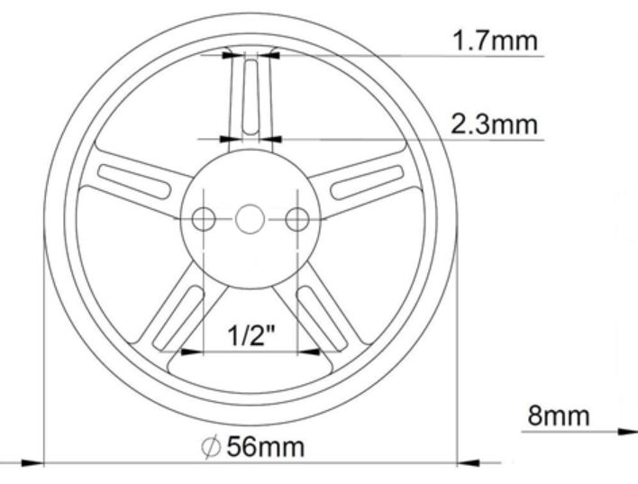 Detail Feedback Questions About 2 Pcs Feetech Fm90 Motors Wheels