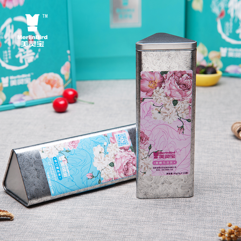 Can packing Chinese High flavor peach oolong tea and fruit tea - 4uTea | 4uTea.com