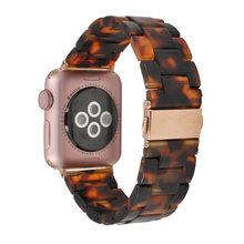 Новый стиль фотополимер класса люкс ремешок для часов Apple Watch Series 5 4 3 2 1 ремешок для мужчин/женщин браслет для Apple iWatch 44 мм 40 мм 38 мм 42 мм(Китай)