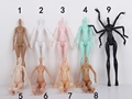 DIY Imitation Demon Monster Dolls Naked Body Without Head For Monster High Dolls DIY Fairytales Rotatable