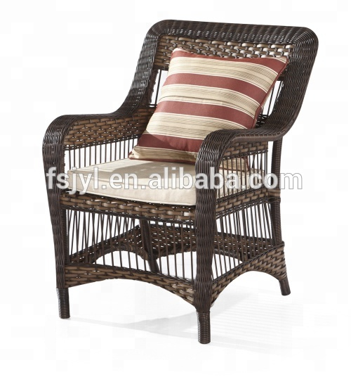 Royal Garden Patio Synthetic Rattan wicker Outdoor Chair granit Furniture