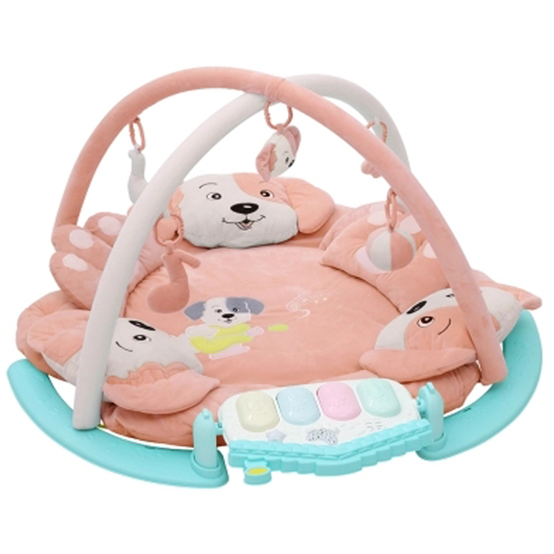Baby toys game play blanket stand toy safety protection crawling mat rattle animal pendant