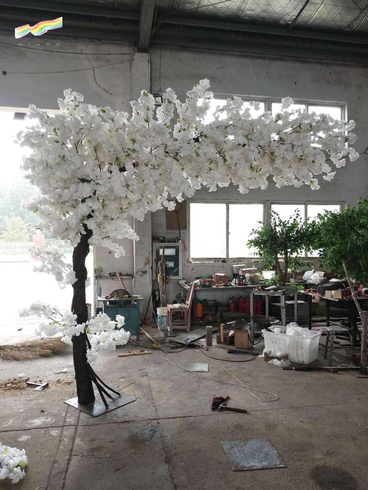 Artificial 10ft indoor cherry blossom tree arch wedding tree for sell decoration wholesale