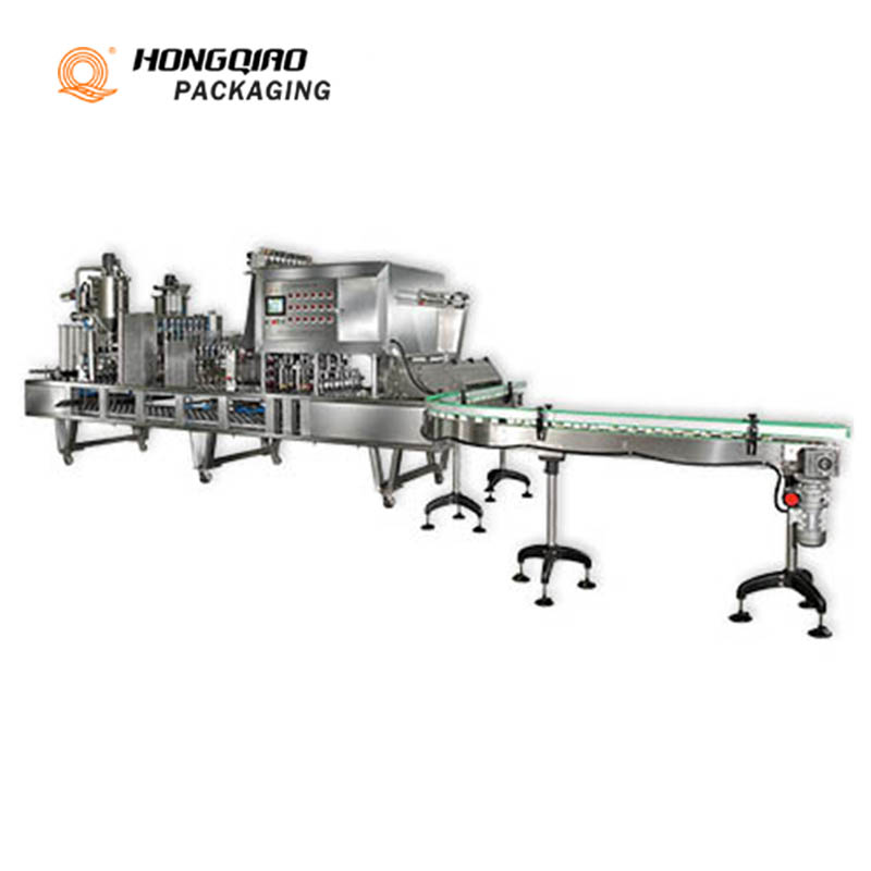 Stand Up Pouches Filling Sealing Machine Bag-Given Packing Machine Doypack Packing Machine