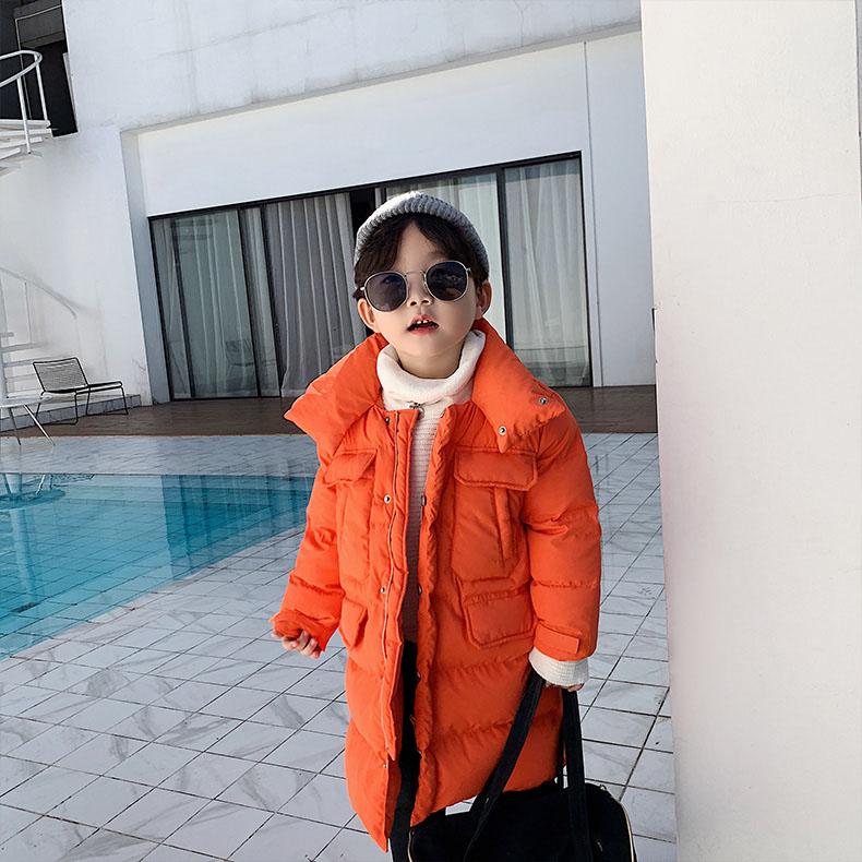 2021 Spring Coat Children Down Jacket For Boy Outwear Kids Warm Coat