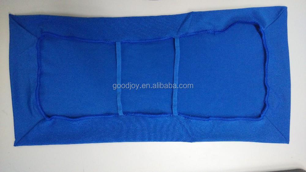 Эластичный текстильный чехол-книжка А5-А4, Съемный Многоразовый чехол-книжка для школьников и студентов