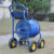 Garden metal four wheel hose cart