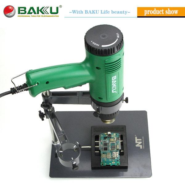 BAKU Lasted design Heat Gun Hot air holder stand F204 BGA rework hot