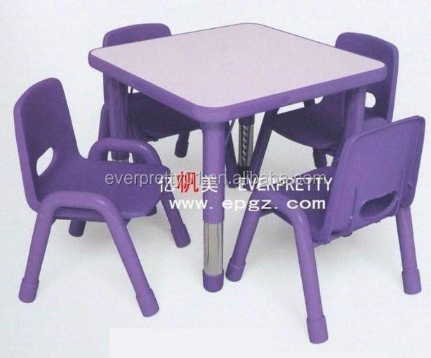 jardin d 39 enfants et l 39 cole maternelle table en plastique et une chaise pour enfants enfants. Black Bedroom Furniture Sets. Home Design Ideas