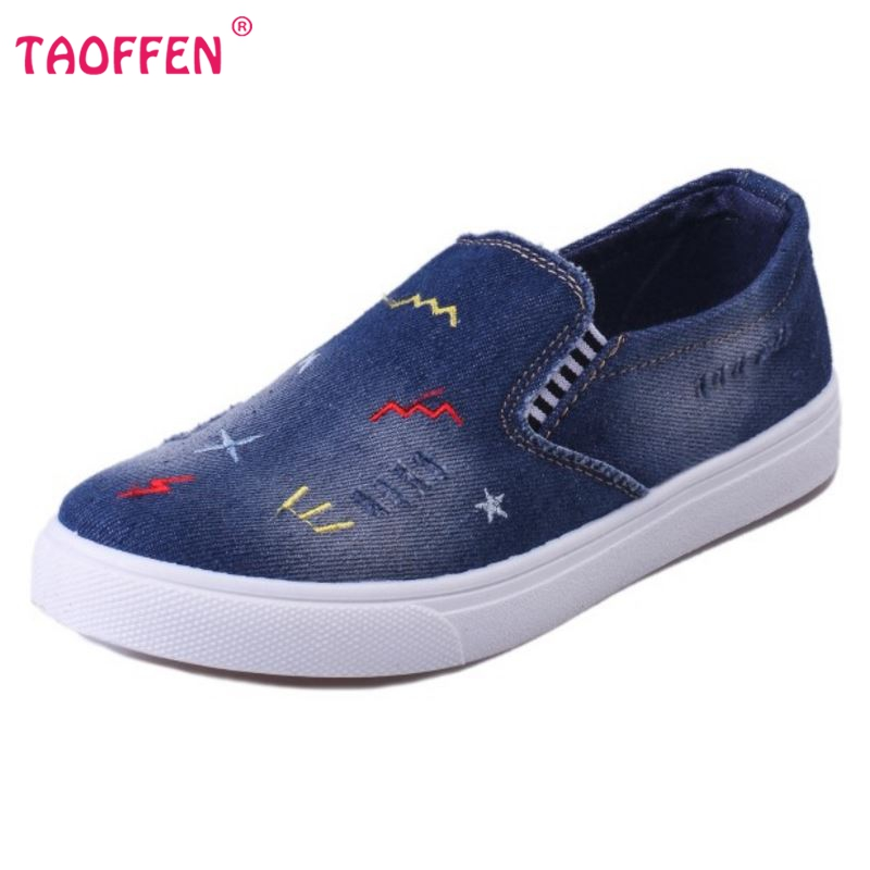Flat Canvas Denim Shoes