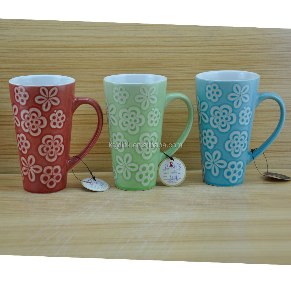 China Latte Drinking 16oz Tall Coffee Mug Buy 16oz Coffee Mug 16oz Tall Coffee Mug Latte Mug Product On Alibaba Com