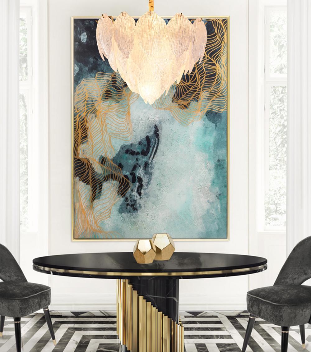 Современная хрустальная люстра с листьями из стекла, Роскошная подвеска из марокканского искусства, Новая Люстра