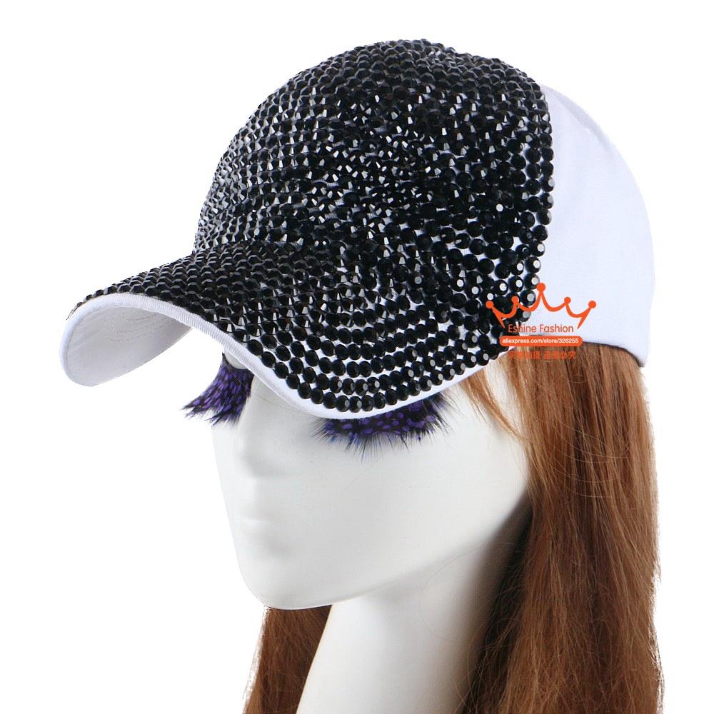 2727580e3 High Quality WOMEN brand baseball cap new fashion rhinestone crystal denim  snapback caps wholesale woman hip hop snapbacks hats