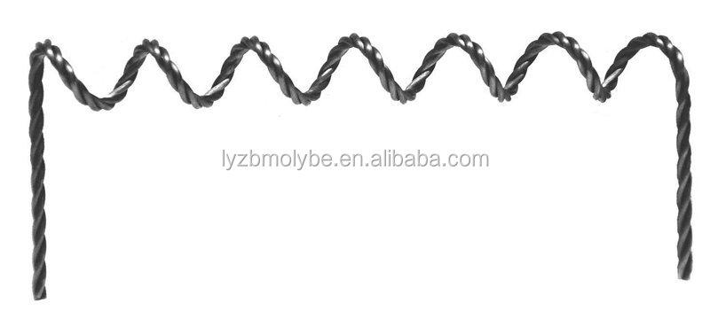 Вольфрамовая нить, провод нагревателя из вольфрама, производство Китай