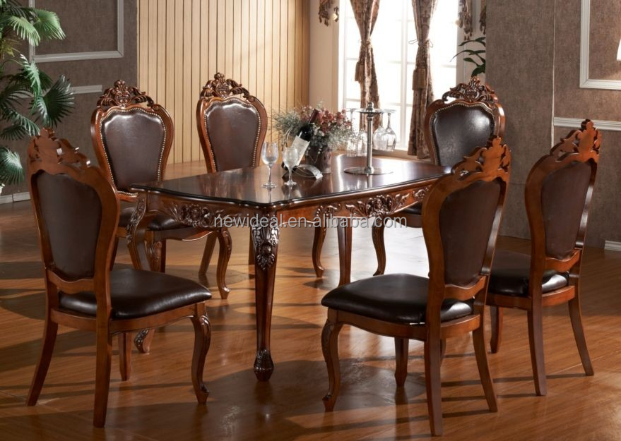 High Quality 6 Seater Rectangle Wooden Dining Table Ng2656 Buy Wooden Dining Table 6 Seater Dining Table Wood Dining Table Product On Alibaba Com