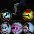 64 RGB LEDs Cycle Bike Bicycle Smart Light 2016 New 1 Set Colorful Wheel Spoke Light