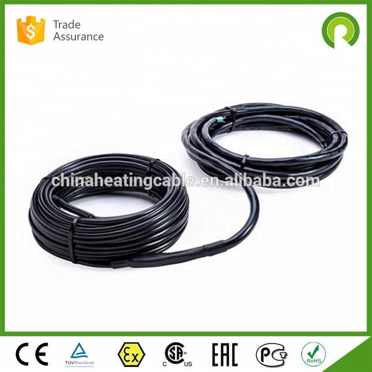 Outdoor heaters stairs and roof snow melting heating cable