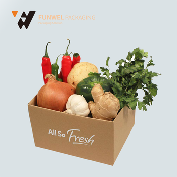 wholesale Chinese custom boxes for fresh produce