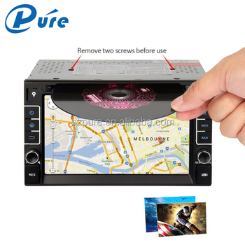 2 Din Car Stereo Vehicle Multimedia Player Car DVD TV Radio Player with GPS/BT/3G/TV/USB/SD/AUX IN/Mirror-link