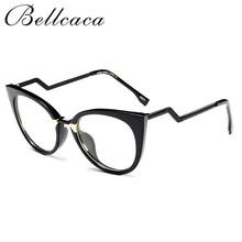 Bellcaca, очки, оправа для очков, для женщин, кошачий глаз, компьютерные оптические очки, близорукость для женщин, женские прозрачные линзы, BC139(Китай)