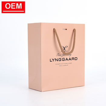 personalised custom brown paper gift bags manufacture