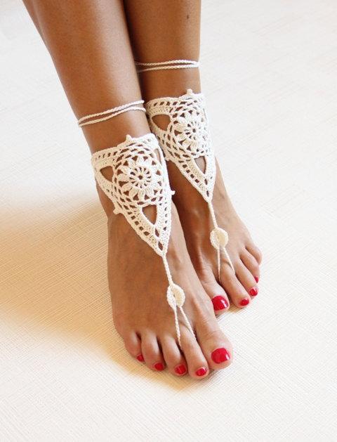 Aliexpress.com: Acheter Plage de mariée ivoire crochet