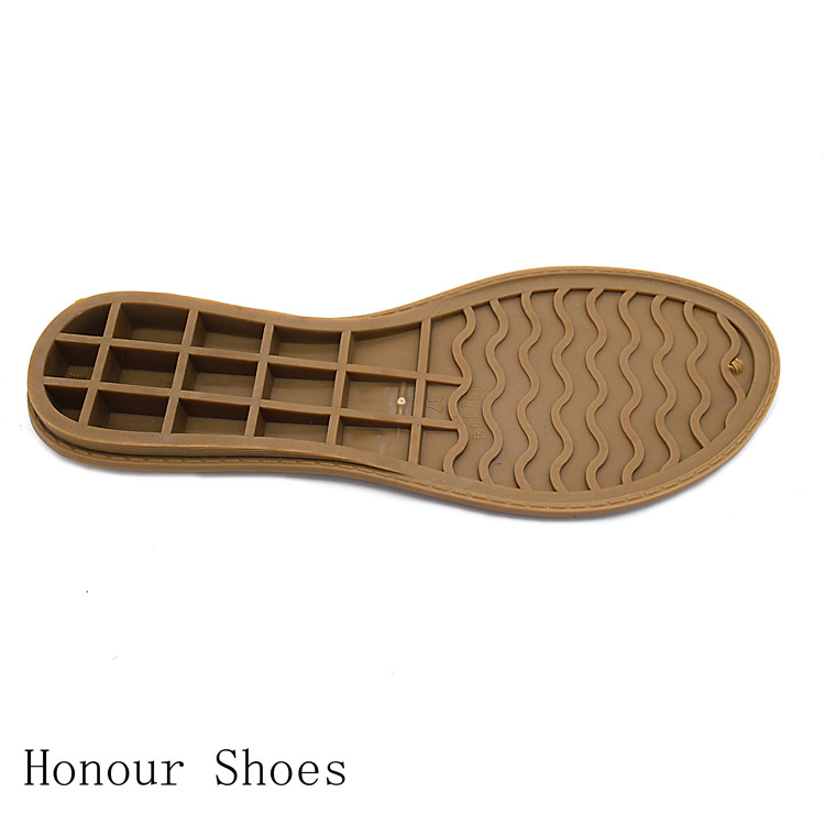 Wholesale TPR sole material sole wear ladies sandals bottom