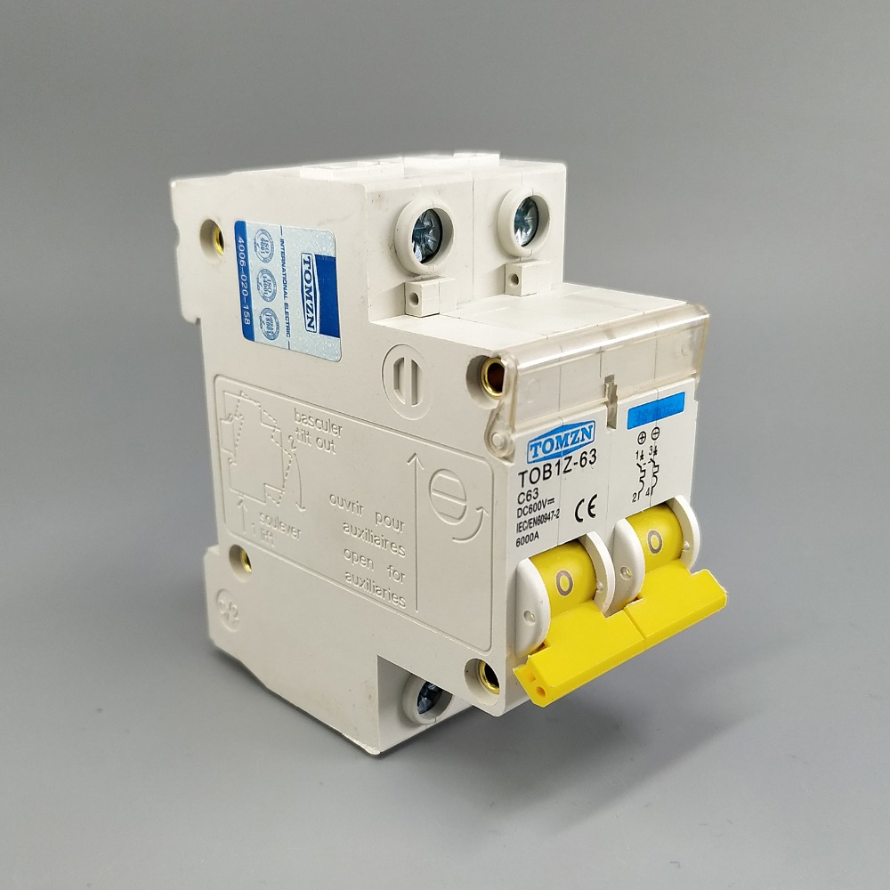 2p Dc 600v Circuit Breaker Mcb C Curve Single Pole Direct-current Fuse For  Pv - Buy Circuit Breaker,Mcb Product on Alibaba.com