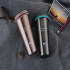 Best Selling Customize Logo Thermos Double Wall Insulated Reusable Stainless Steel Coffee Mugs With Free Sample