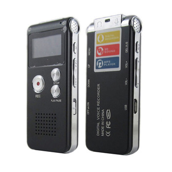 SK-012 Metal Dictaphone Telephone Recorder Multi-function Flash Digital MiniUSB Voice Recorder 4G 8G with Mic