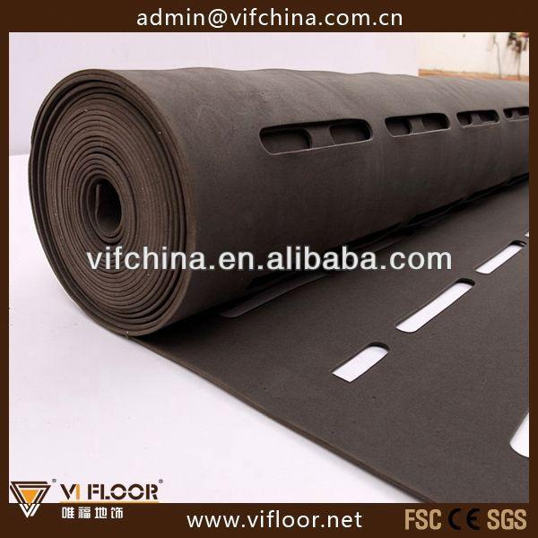 Non Toxic 3mm Black Eva Foam Acoustic