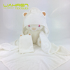 bamboo hooded baby towel BW01 90*90cm