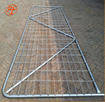 New Zealand galvanized wire mesh farm gate made by Haotian