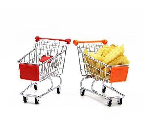 Amazon горячая Распродажа мини продуктовый прокатки складной Замена провода детские игрушки супермаркет тележка корзина